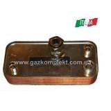 3.015436 (17В1951502) Теплообменник вторичный IMMERGAS Nike / Eolo mini (1.