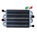 39837660А (39841310) Теплообменник битермический FERROLI DOMIPROJECT C24D/F