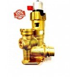 0020132682 Трехходовой клапан латунный VAILLANT Turbo/AtmoTEC Pro/Plus, Eco