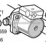 3611300 Насос циркуляционный BAXI SLIM / WESTEN Compact